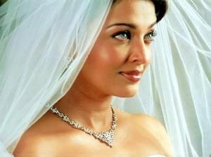 winter bride makeup
